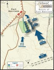 fort harrison map