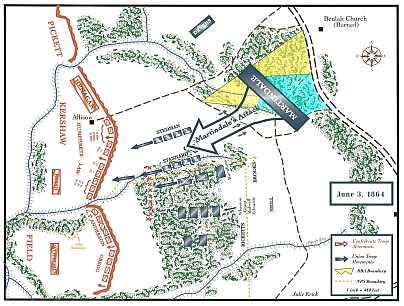 cold harbor map